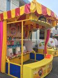 ミルクびんの遊園地のゲームの謝肉祭の停止