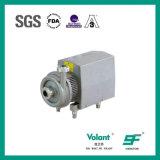 Pompe centrifuge de solides solubles pour le lait avec des extrémités de connexion de SMS
