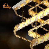 30W duas camadas da luz quadrada do cristal da decoração do poder superior