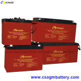 Батарея геля цикла 12V 120ah высокого качества глубокая солнечная