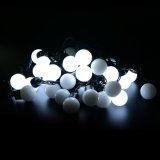 светильник света шнура рождества пузыря 50PCS приведенный в действие шариком СИД 3cm цветастый водоустойчивый для украшения сада венчания партии празднества праздника