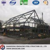 Construction préfabriquée de structure métallique de modèle pour la Chambre