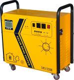 système renouvelable de bloc d'alimentation de panneau solaire à C.A. de 600W 200ah/220V