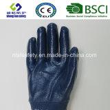 Gants enduits de Work&Safety de gants de nitriles lourds