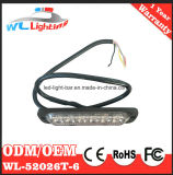 C.C. ambarina 12-24V de la ambulancia 6W LED Lighthead