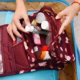 De opgeschorte Haak die van de Kleur van de Zak van de Opslag van de Zak van de Reis Waterdichte Kosmetische Zak wassen