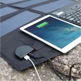 60W Sunpower portatif pliant le panneau solaire de chargeur avec le chargeur de sortie de C.C 18V et d'USB 5V pour des cahiers de tablette d'ordinateur portatif