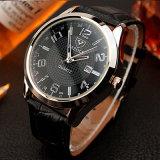Dial blanca y negra del reloj del asunto de manera de los hombres de lujo H309 con la visualización del calendario