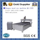 máquina de madera 1325 del CNC 3D para la talla de madera