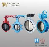 Fábrica del fabricante de la válvula de mariposa de la ISO del CE