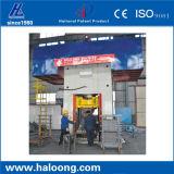 La velocidad alta-baja de la alta capacidad transforma la prensa de planchar refractaria