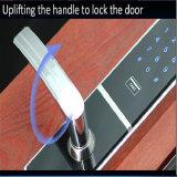 Fechamento eletrônico de Digitas da tela de toque do smart card