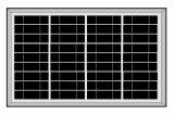 50W zonnestelsel met bouwstijl-in AC Lader