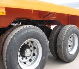 Semi-remorque à plat chaude 2axles (doubles pneus) des ventes 40feets