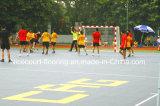 Carrelage de verrouillage extérieur et d'intérieur de cour de handball, étage de handball
