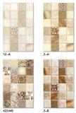 Materiales de construcción 250X400 inyección de tinta baño glaseado pared de la baldosa cerámica nuevo diseño