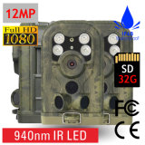 câmera da fuga da caça da visão noturna de 12MP 1080P
