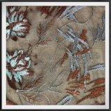 Шнурок шнурка вышивки Tulle полиэфира шнурка вышивки сетки вышитый цветком