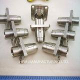 Carrocería modificada para requisitos particulares del enchufe del borde de la pieza inserta de la guarnición de la pieza del CNC del acero que trabaja a máquina inoxidable