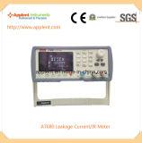 Medidor atual do escapamento com o 1V-650VDC com relação do alimentador (AT680)