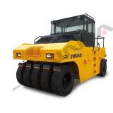 Máquina del camino rodillo puesto un neumático neumático rodado 27 toneladas (JM927)