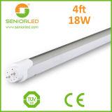 適用範囲が広いストリップT8 LEDの管はハウジングをつける