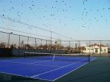 Suelo modular suspendido del tenis que se enclavija, suelo del deporte (bronce de la plata del oro del tenis)