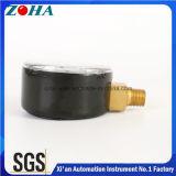 En837-1 venta caliente general material de Alemania de los calibradores de presión del caso de dc 01 del duplex de cobre amarillo de acero del conector
