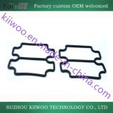 Garnitures plates en caoutchouc de silicones avec la colle