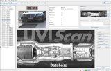 HD1080p Portable unter dem Fahrzeug-Scannen, das Systeme überprüft