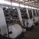 Tela tecida do preço da manufatura de China Polypropylene tubular branco barato