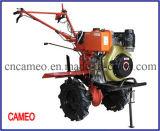Cp1050 6HP 4.4kw Diesel Tiller Two Wheel Tiller Mini Tiller Garten Tiller Farm Tiller Rotary Tiller Diesel Power Tiller