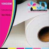 Papel de transferencia 100GSM normal de la sublimación para la impresión digital