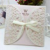 카드 서류상 새로운 디자인 구렁 인사장 또는 권유 카드 또는 결혼식의 청첩장