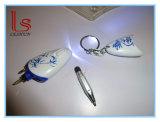 [لد] قلم ضوء مع مفكّ أداة وإبرة قلم