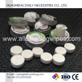 Compressed намочите Wipes Nonwoven
