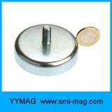 Starke Neodym-Potenziometer-Magneten mit Schrauben-Loch