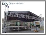 Портативный алюминиевый этап с крышей, системой этапа алюминиевой ферменной конструкции складывая