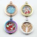 Lockets interchangeables pendants pour le bijou de mode de collier