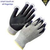 Gants résistants à la fibre Hppe Gants Smart Touch Work