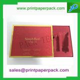 皿を群がらせるPVCが付いているカスタム豪華な人間の毛髪の宝石類の板紙箱の香水ボックス装飾的なペーパー荷箱キャンデーのギフトの包装ボックス