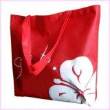 Подарок Non сплетенное Eco рождества высокого качества рекламируя мешок Tote покупкы