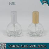 mini frasco de perfume de vidro transparente vazio do pulverizador 10ml