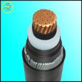 cabo distribuidor de corrente isolado XLPE da alta qualidade da bainha do PVC 15kv