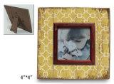 Retro blocco per grafici di legno della foto del nuovo reticolo
