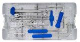 Conjunto del instrumento del tornillo de Pedicle de la espina dorsal de Orthpedic, productos de la espina dorsal