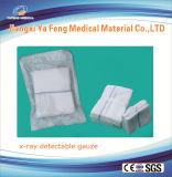 X線の糸および青いループが付いている生殖不能の腹部の綿棒37cmx45xmx6ply。 袋ごとの5 PCS