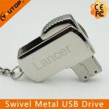 사업에 의하여 주문을 받아서 만들어지는 선물 Swivel/Rotating 금속 USB 섬광 (YT-1210)
