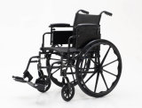 Manuale d'acciaio, funzionale, sedia a rotelle, registrabile, (YJ-K401-1)