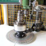 Macchina d'equilibratura dinamica verticale delle parti industriali di figura del disco